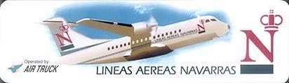 LÍneas aereas Navarras