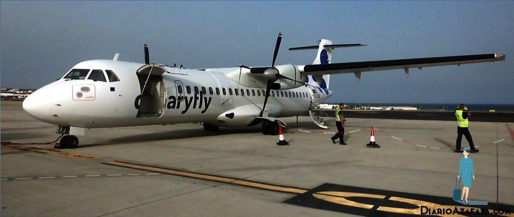 Exterior ATR72 Canaryfly - DiarioAzafata.com