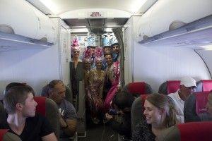 Carnaval a bordo Iberia Express 3 (1)