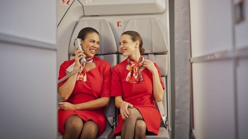 Auxiliares de vuelo Avianca
