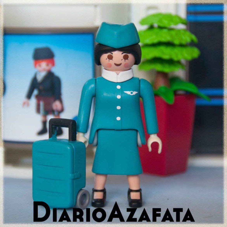 Azafata Playmobil DiarioAzafata Customklick