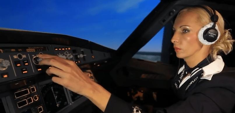 Aeroflot_Azafata